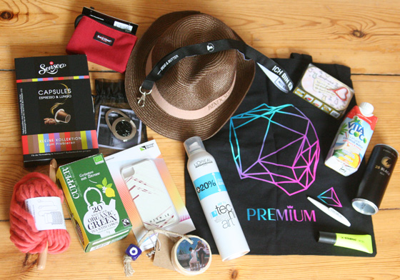 GlamourSister verlost eine Berliner Modewoche Messe-Goodie Bag 01