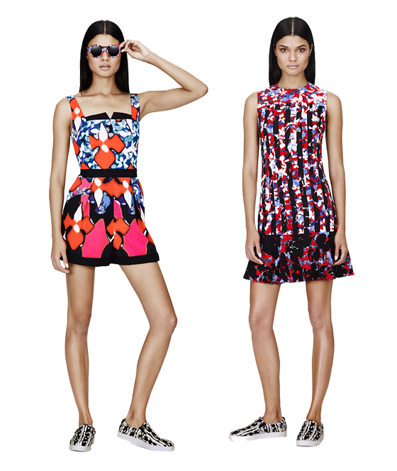 Kollektion Peter Pilotto for Target bei Net-a-porter 05