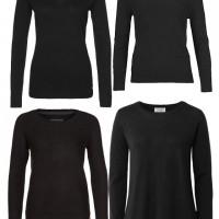 schwarze Pullover von zalando