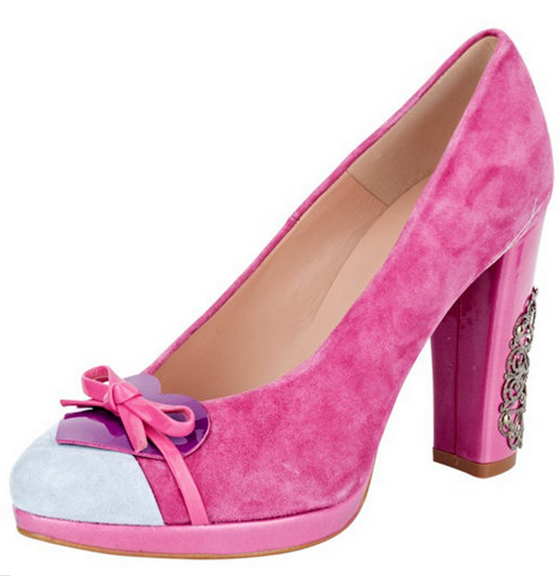 Pinke Pumps von B C Best Connections Heine 01