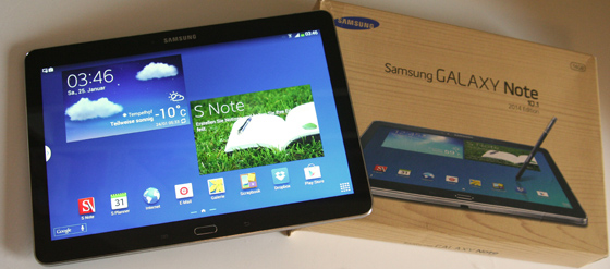 Samsung Galaxy Note 10 2014 Edition