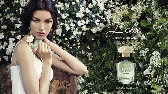 Kate König für den neuen Duft Dolce von Dolce & Gabbana Parfum