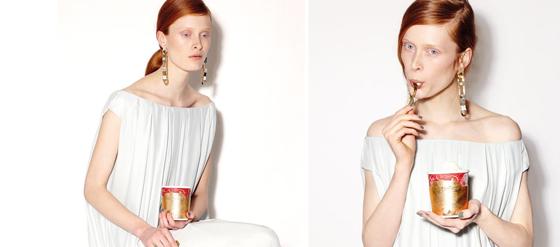 Malaikaraiss Eine Designer-Eis-Stulpe für Häagen-Dazs Sleeve