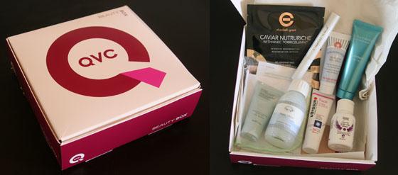 Die QVC Beauty Box April 2014