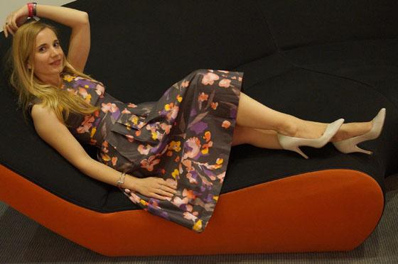 Gala Outfit Blumenkleid 03
