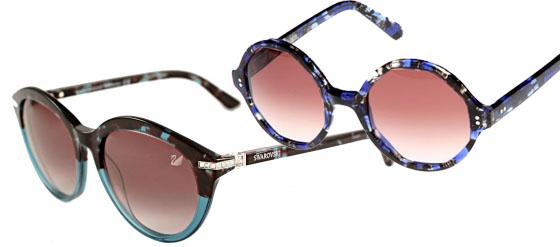 blaue Sonnenbrillen