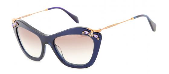 dunkelblaue Sonnenbrille von Miu Miu