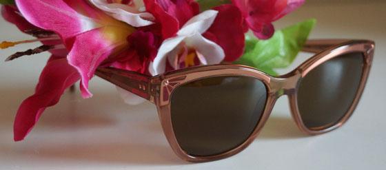 Kaviar Gauche Brendel Sonnenbrille rose 906042-01