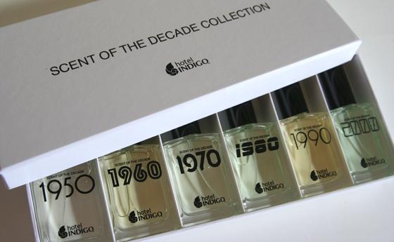 Parfümkollektion Hotel Indigo Scent of the Decade Collection Duft 01
