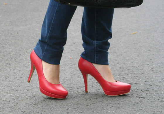 Red Shoes Day 2014 Pumps