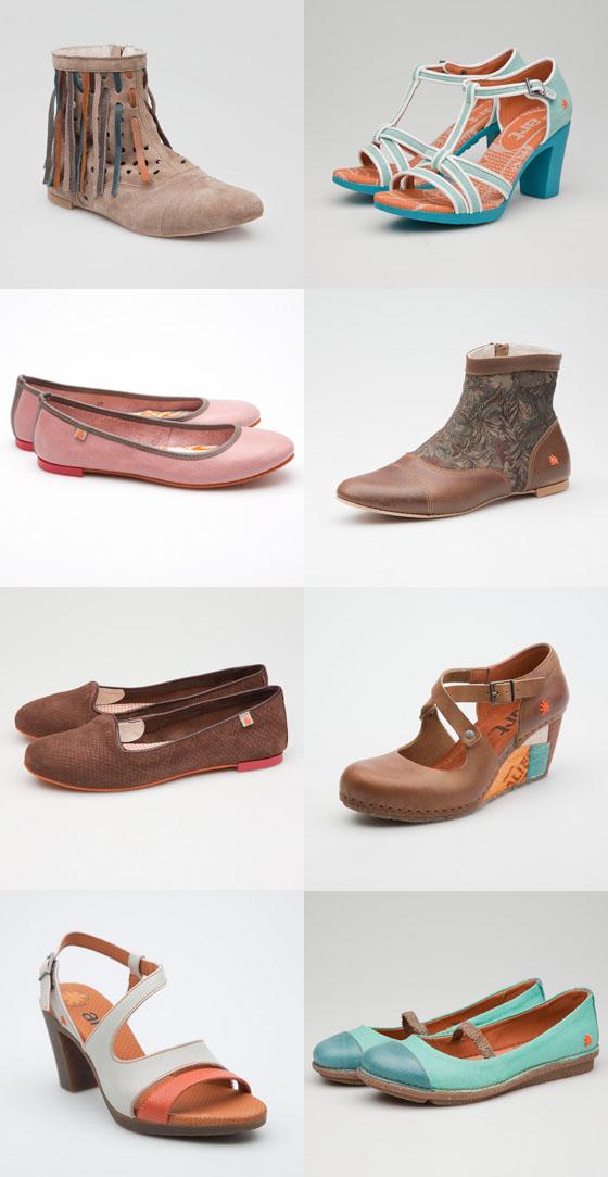 The ART Company Schuhe Frühjahrs Sommerkollektion 2014