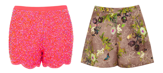 farbenfrohe Shorts im Sommer 01