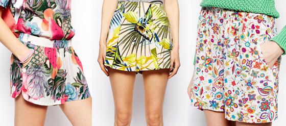 farbenfrohe Shorts im Sommer 03