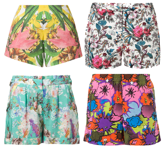 farbenfrohe Shorts im Sommer 04