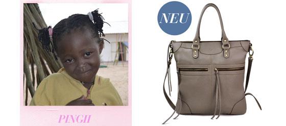 Mit der BELIEVE Tasche von beliya Schulbildung in Afrika unterstützen