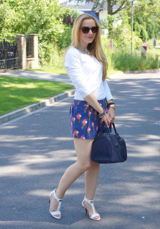 Pepe Jeans Andy Warhol Eistüten-Shorts Outfit 04