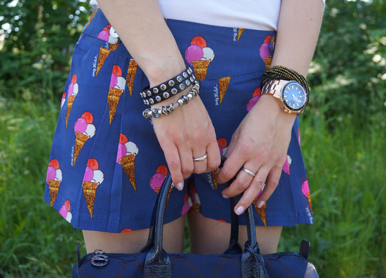 Pepe Jeans Andy Warhol Eistüten-Shorts Outfit 08