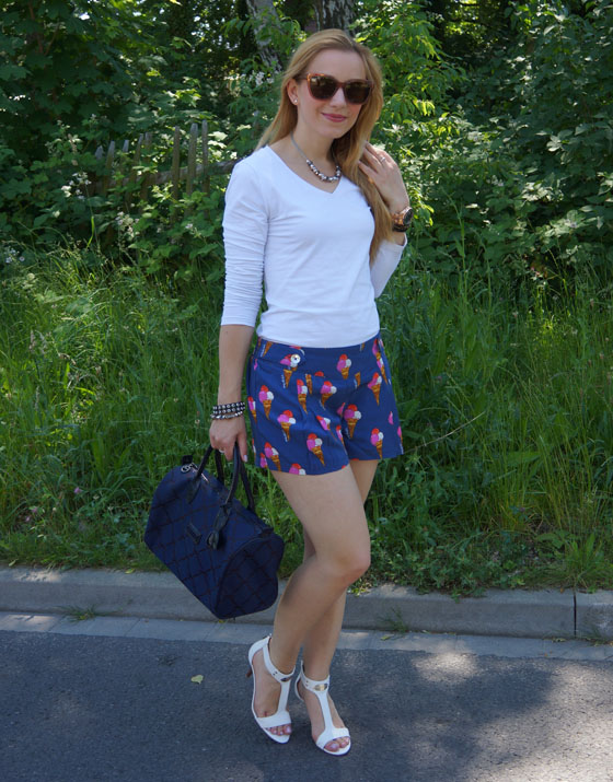 Pepe Jeans Andy Warhol Eistüten-Shorts Outfit 03