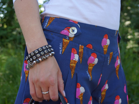 Pepe Jeans Andy Warhol Eistüten-Shorts Outfit 07