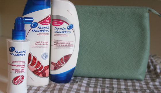 head & shoulders thick&strong Kollektion 02