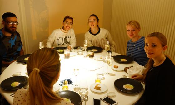 Abendessen im Restaurant El Portal de Echaurren 05