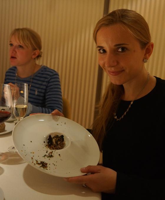 Abendessen im Restaurant El Portal de Echaurren 09