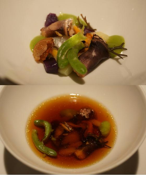 Abendessen im Restaurant El Portal de Echaurren 12