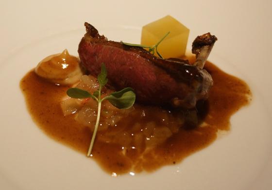 Abendessen im Restaurant El Portal de Echaurren 15