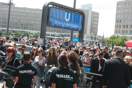 PRIMARK Eröffnung Berlin Alexanderplatz 03