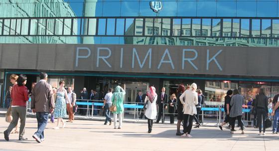 PRIMARK Eröffnung Berlin Alexanderplatz 01