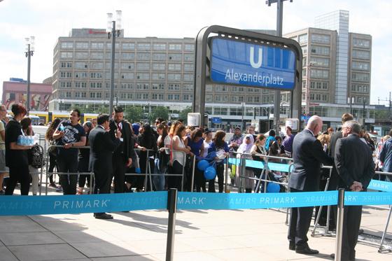 PRIMARK Eröffnung Berlin Alexanderplatz 02