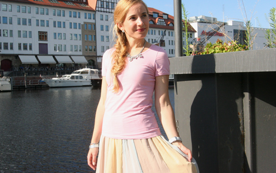 Pastell Sommer Outfit 1