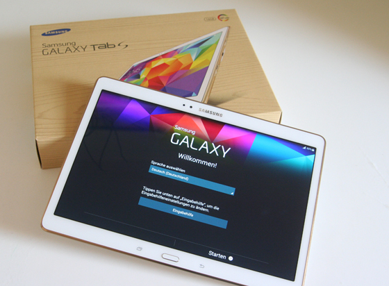 Galaxy Tab S Mein neuer Begleiter von Samsung 04
