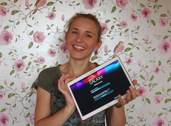 Galaxy Tab S Mein neuer Begleiter von Samsung 06