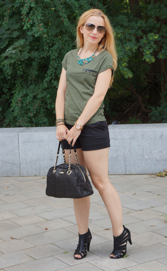 Outfit grün & schwarz 02