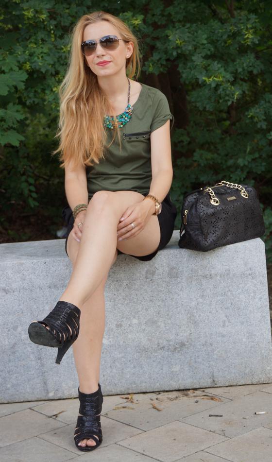 Outfit grün & schwarz 05