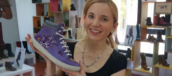 ART Sneakers lila