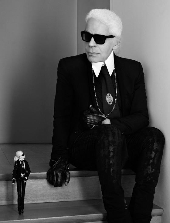 Barbie & Karl Lagerfeld 02