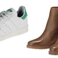 Stiefelette von SIXTYSEVEN und Stan Smith Sneakers von ADIDAS