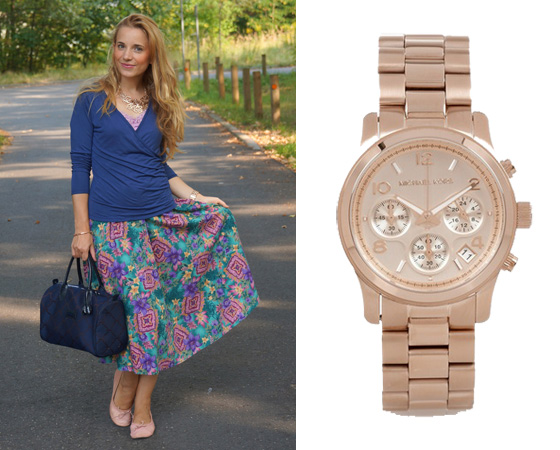 Michael Kors Uhr Outfit