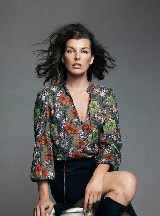 Milla Jovovich ist die Muse des El Corte Inglés 02