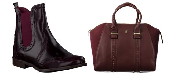 omoda Schuhe passen farblich zur Handtasche 03