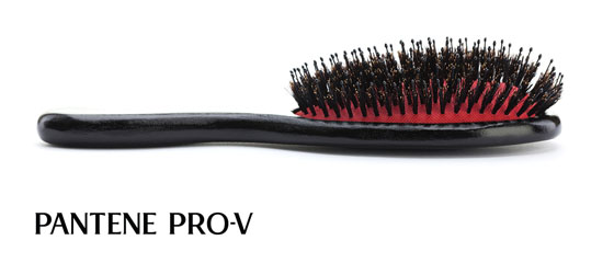 Bürstentipps von Sacha Schütte zur Pantene Pro-V Anti Haarverlust Pflegeserie 04