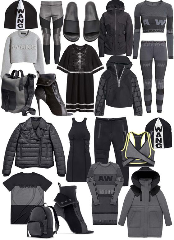 Die Alexander Wang x H&M Kollektion