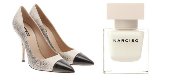 Die Schuhe zum Duft NARCISO von Narciso Rodriguez