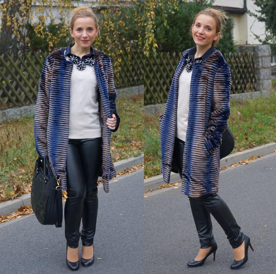 Sarah Kern Mantel Webpelz Outfit 02