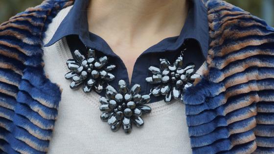 Sarah Kern Mantel Webpelz Outfit 06