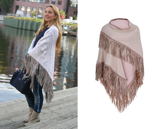 Schal von ANTONIA ZANDER Outfit Poncho