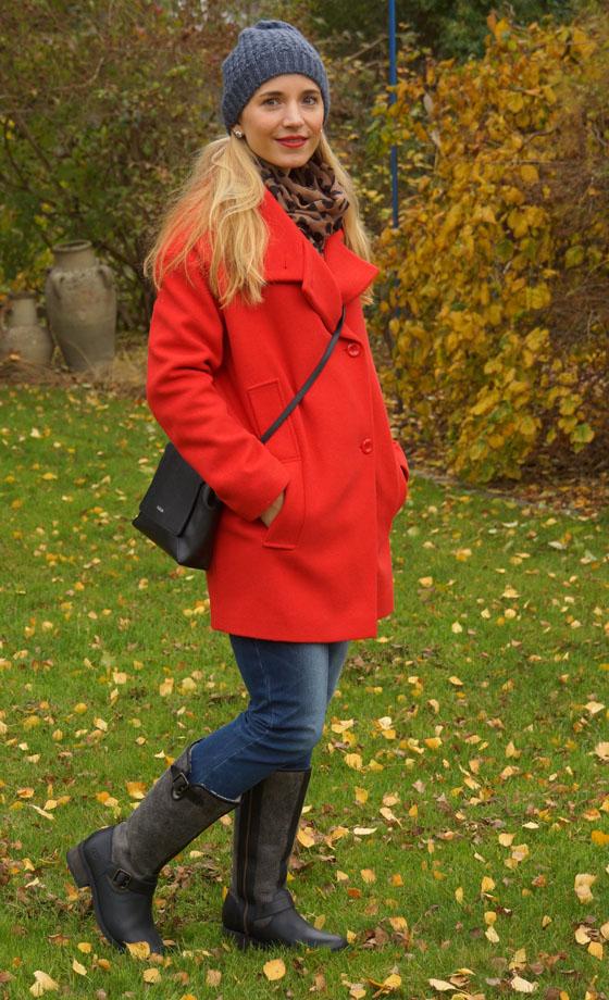 UGG Australia Boots und Furla Tasche Outfit 03