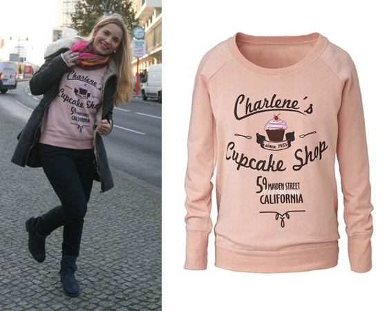 Outfit Charlenes Cupcake Shop Pullover